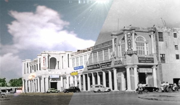 Connaught Place Cover