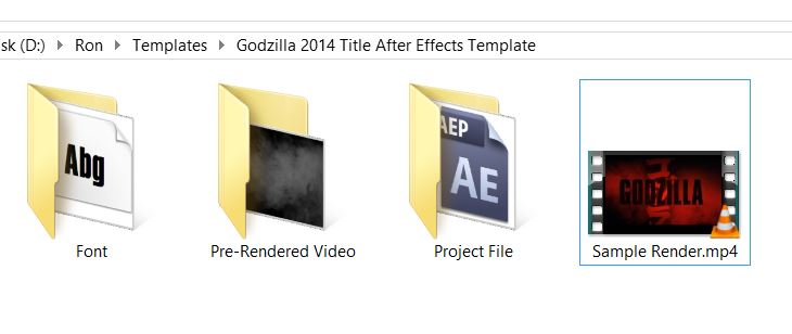 godzilla movie after effects template5
