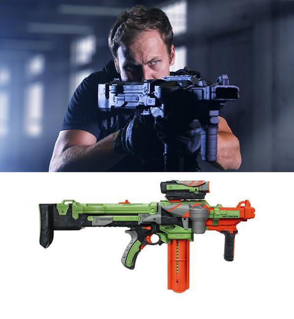 Sci-Fi Wepaons experiment nerf gun