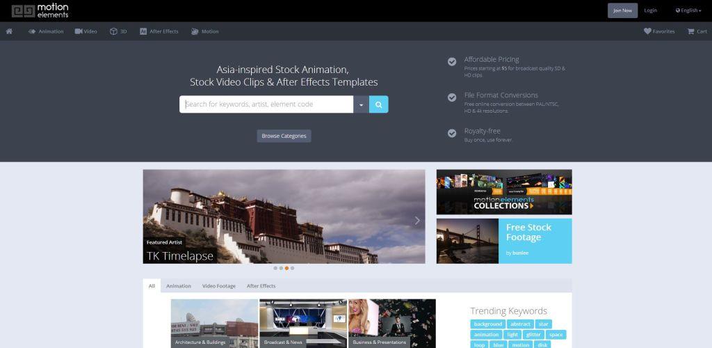 motion elements Online Marketplace