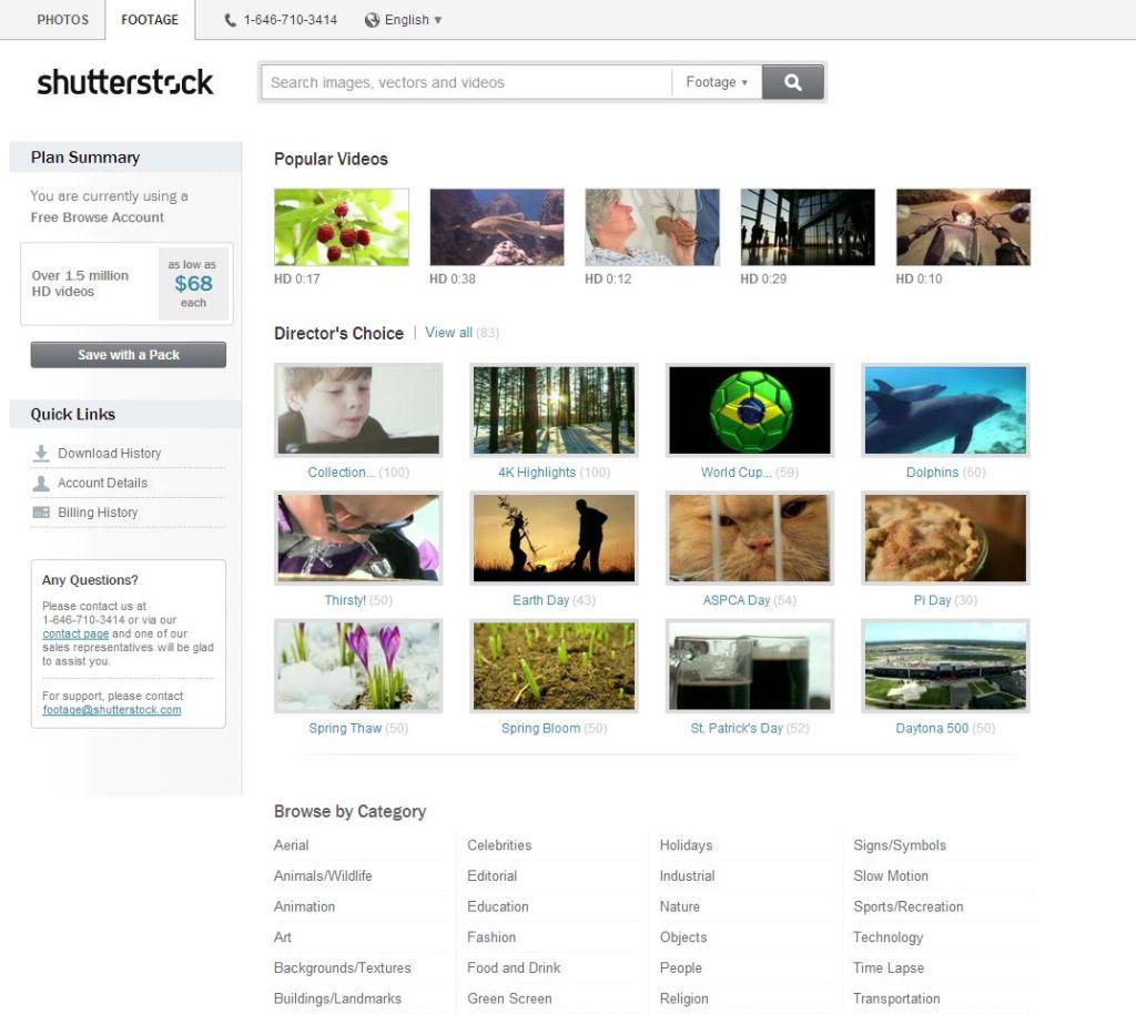 shutterstock Online Marketplace