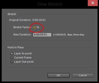 Time Stretch After Effects